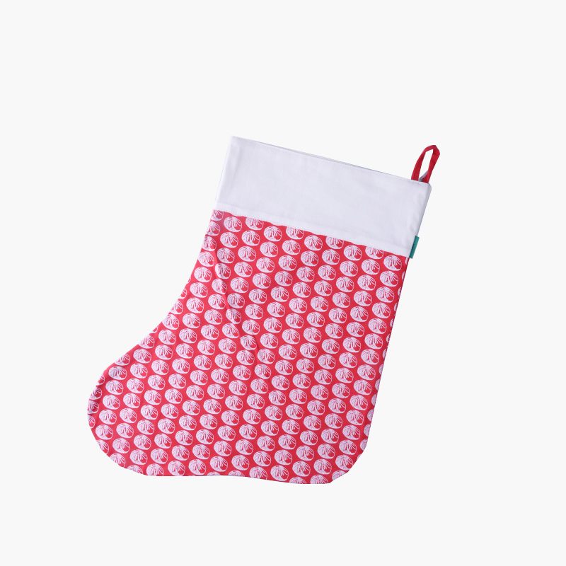 Pinyin Press, 'Baozi' Christmas Stocking (Red)