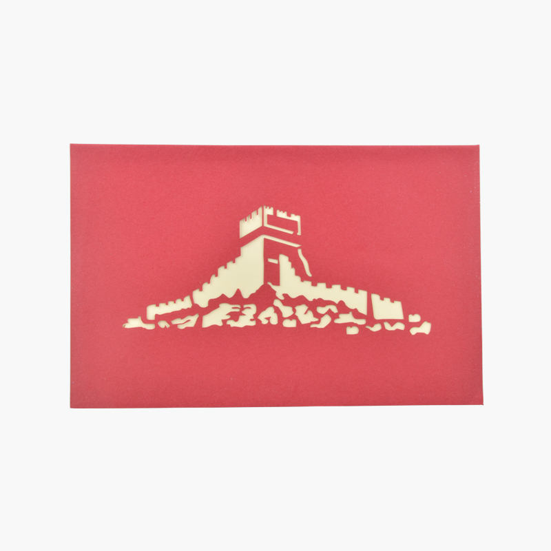 3D Greeting Card (Great Wall) x1