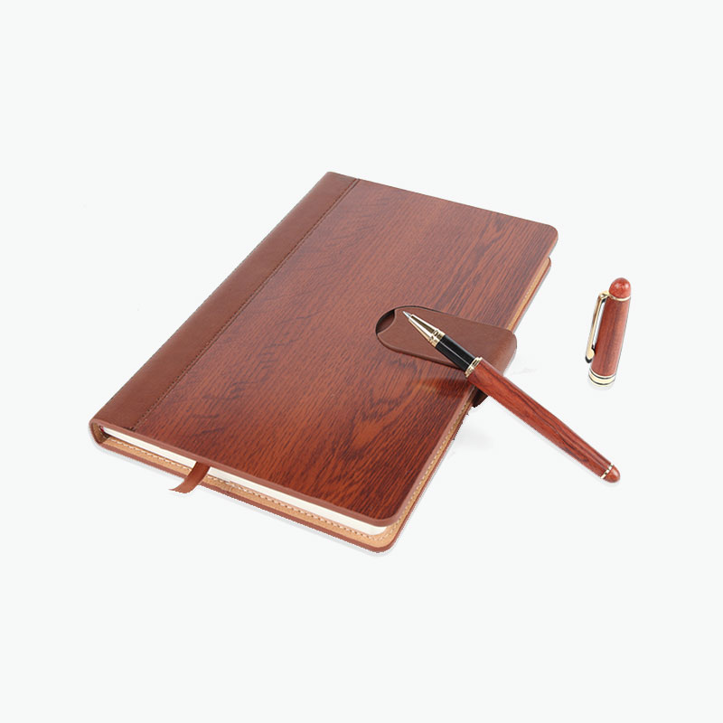 A Gift of China, Gift Set (Rosewood Notebook & Pen)
