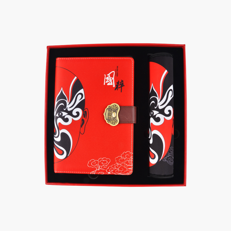 A Gift of China, Beijing Opera Notebook & Mousepad Gift Set