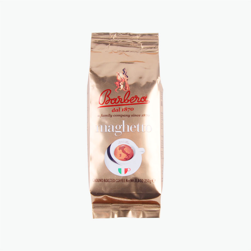 Barbera Maghetto Ground Roasted Coffee 250g