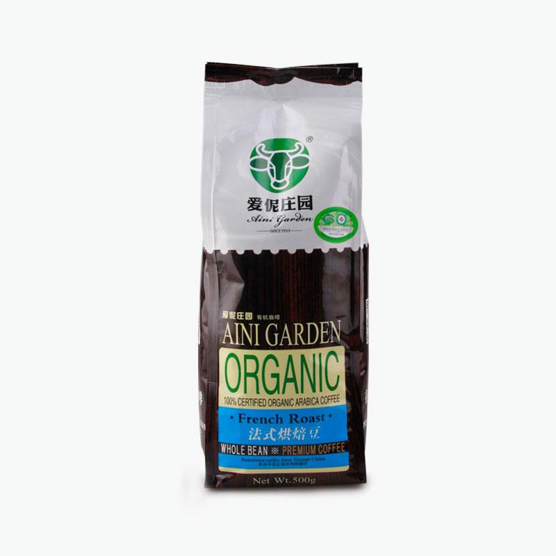 AINI GARDEN, FRENCH ROAST Coffee Beans 500g