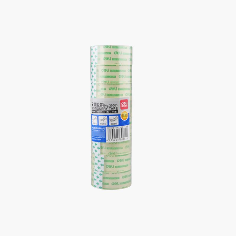 Deli Stationery Tape 1.8cm x8