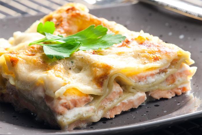 Salmon Lasagna