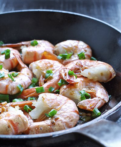 Cantonese Stir-fried Shrimp